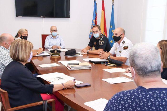 L'Alcalde d'Alaquàs es reuneix amb la junta de seguretat per a valorar i establir accions en matèria de seguretat pública contra el covid-19