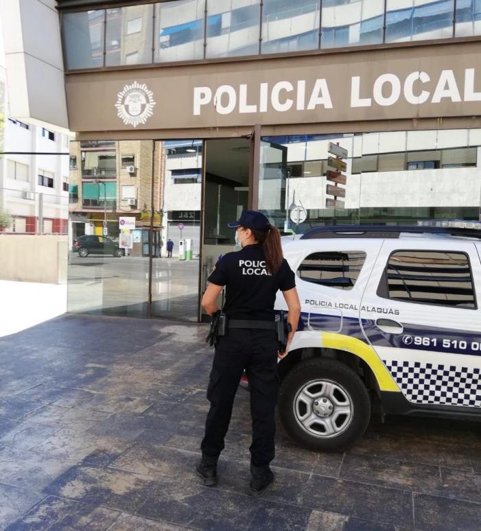 La Policia Nacional, amb la col·laboració de la Policia Local d'Alaquàs, deté a una dona després de causar danys en 36 vehicles