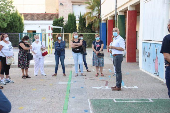 L'Ajuntament d'Alaquàs reforça la neteja i desinfecció als centres escolars amb un increment de 9 persones i una inversió de 100.000 euros