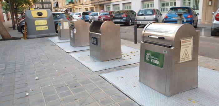 L'Ajuntament de Quart de Poblet inverteix 48.254 euros en l'adequació dels contenidors soterrats