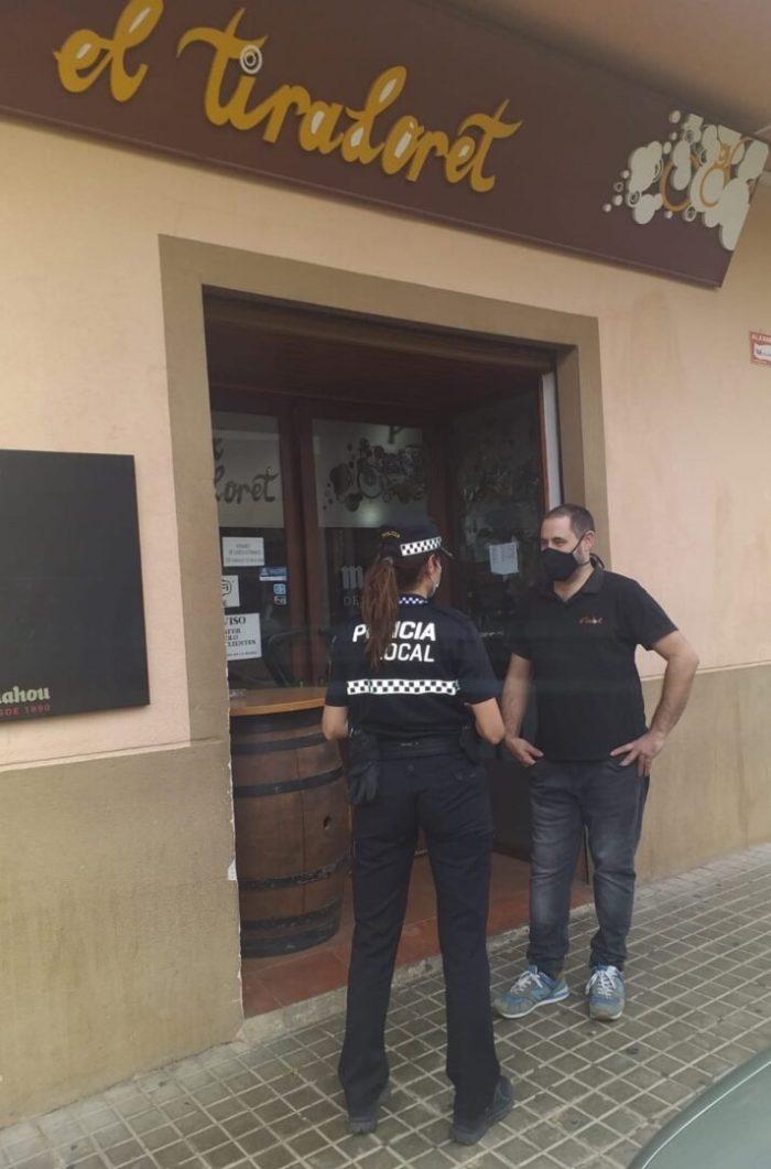Alberic activa una policia comercial per a assegurar el bon servei als establiments