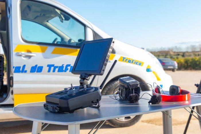 Un dron vigila les urbanitzacions de Picassent per combatre els robatoris