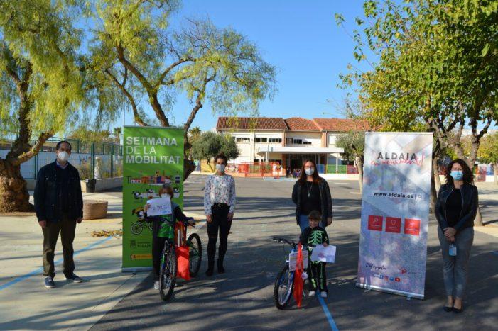 L'Ajuntament d'Aldaia entrega 17 bicicletes per la Setmana Europea de la Mobilitat