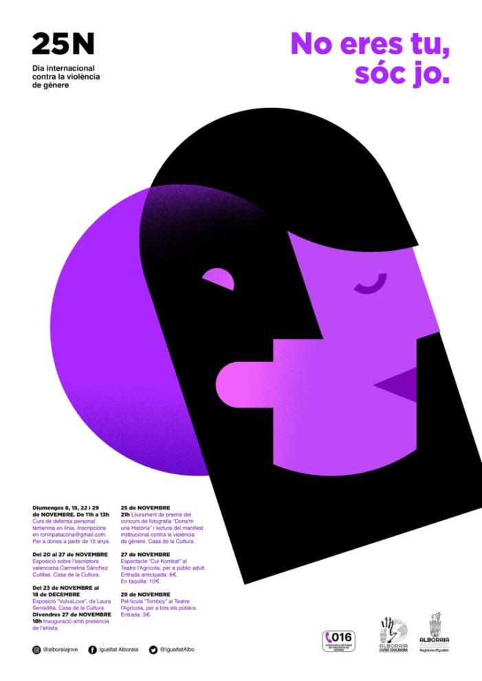 Alboraia llança una campanya de conscienciació per al Dia contra la Violència de Gènere