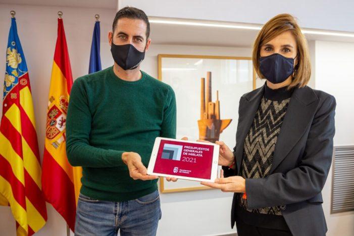 Mislata aprovarà un pressupost de més de 35 milions d'euros amb superàvit