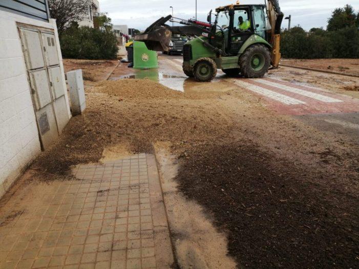 Torrent destinarà 100.000 euros a un Pla d'ajudes urgents per a pal·liar els danys en instal·lacions de reg ocasionats pel temporal