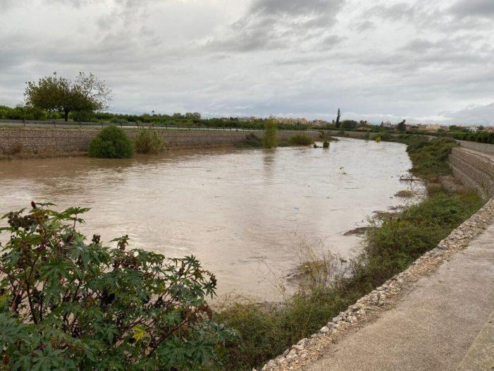 La pluja del dijous a Algemesí va a produir registres propis del monsons