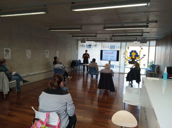 L'Ajuntament de Quart de Poblet imparteix un taller de justificació de subvencions per a associacions