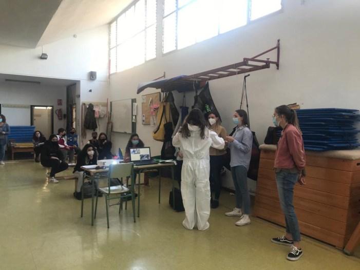 El Departament de Salut de la Ribera col·labora amb els centres docents i ajuntaments en la prevenció del COVID-19