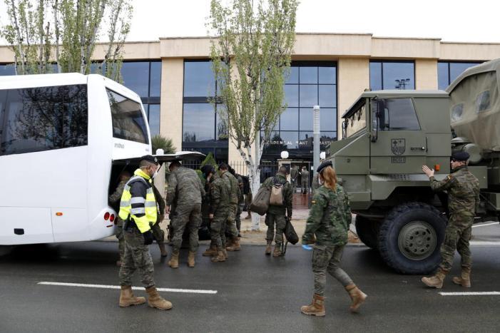 Altres 150 rastrejadors militars ja estan operatius per a traçar els contagis en la Comunitat Valenciana