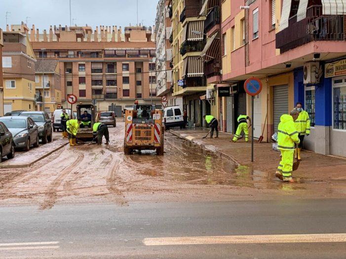 Cal exigir a la Generalitat la construcció del nou canal interceptor per a evitar les barrancades en les zones de Venècia i l'Alquenència d'Alzira