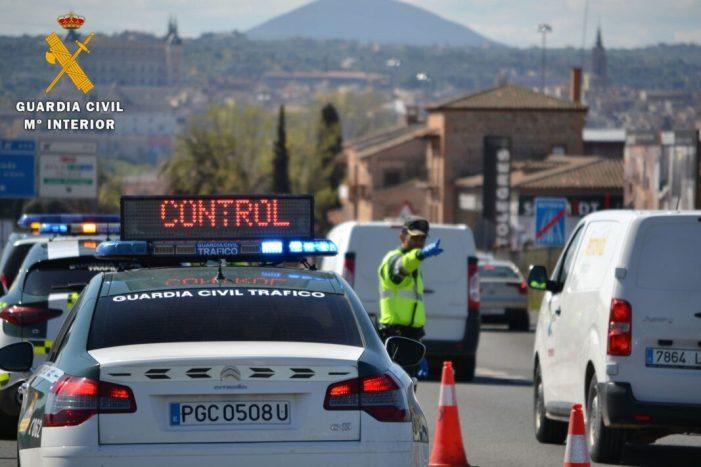 Prop de 6.000 dispositius de la Guàrdia Civil interposen més de 3.100 propostes de sanció en el primer mes i mig del tancament perimetral de la Comunitat Valenciana