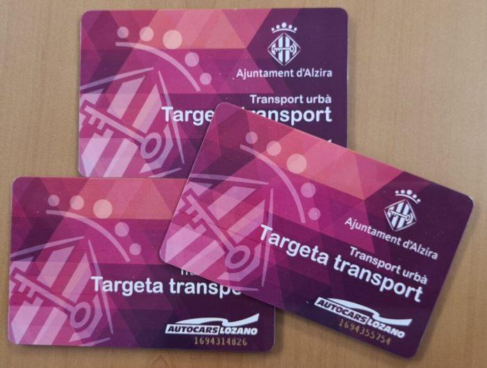 5.998 alzirenys ja utilitzen gratuïtament el transport urbà gràcies a la Targeta Social