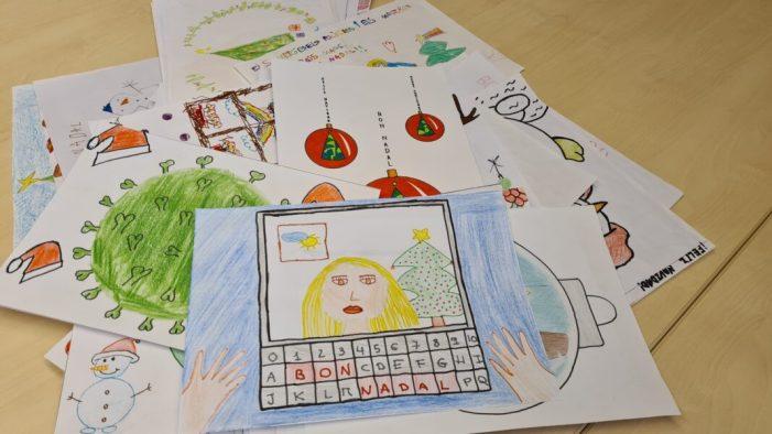 Més de 600 xiquets i xiquetes participen en el Concurs de Dibuix de Nadal