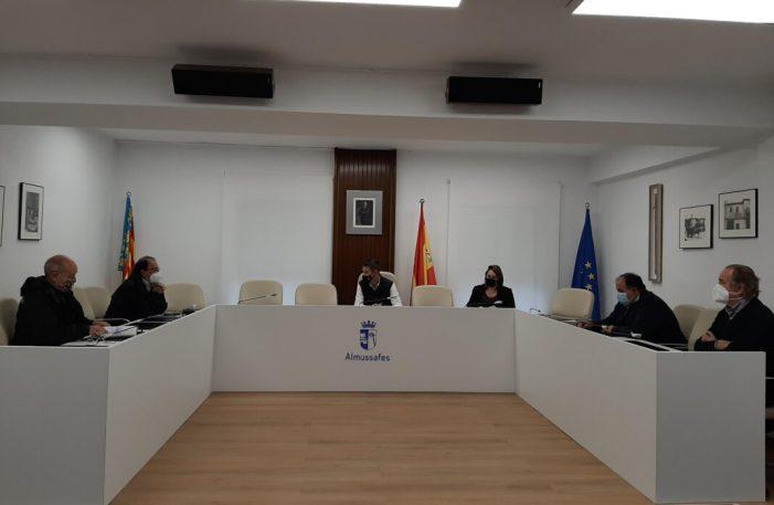 L'Ajuntament d'Almussafes exigeix que la Generalitat execute per via d'urgència l'obra del col·lector del carrer Santa Creu