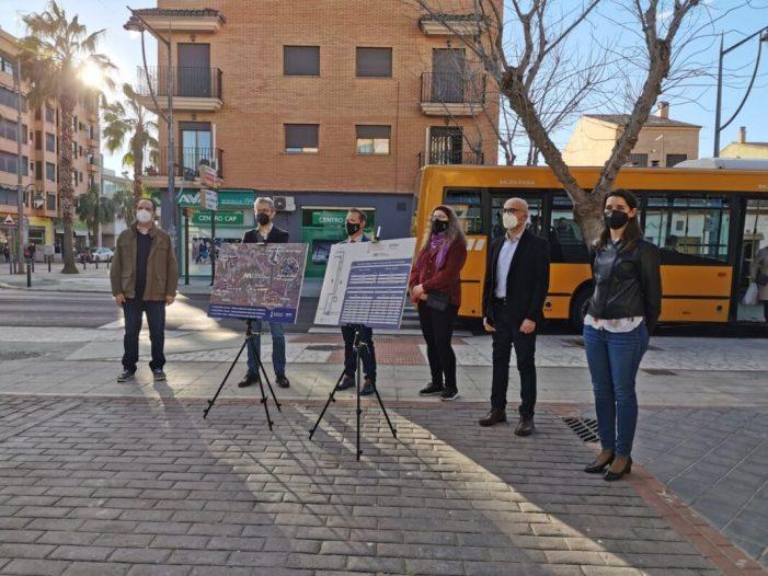 Xirivella reforça la seua connexió directa amb el Metro en hora punta