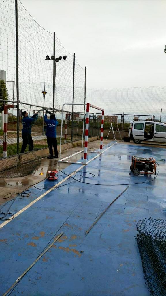 Bonrepòs i Mirambell millora les seues instal·lacions esportives