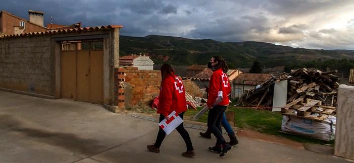 Creu Roja i Diputació de València fan costat a 1.654 persones de 56 municipis amb menys de 5.000 habitants
