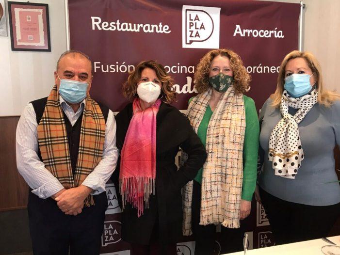 PP de Torrent: Folgado es reuneix amb l'associació gastronòmica Cassola de Sant Blai