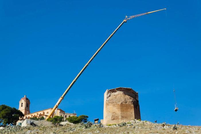 S'inicien les obres de restauració de la Torre Octogonal de Cullera
