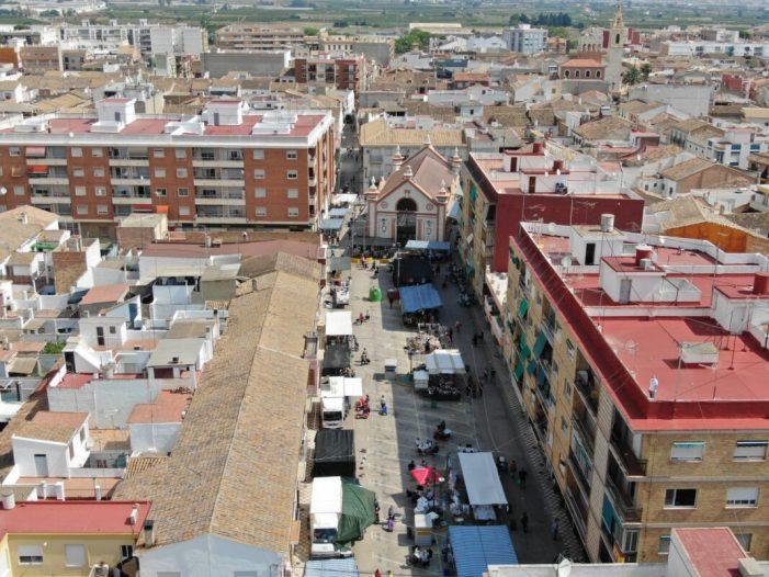 Alcàsser suspén la taxa de terrasses i del mercat ambulant durant tot el 2021