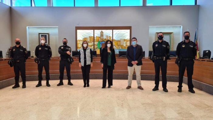 Cinc nous agents de la policia local han pres hui possessió a Carlet