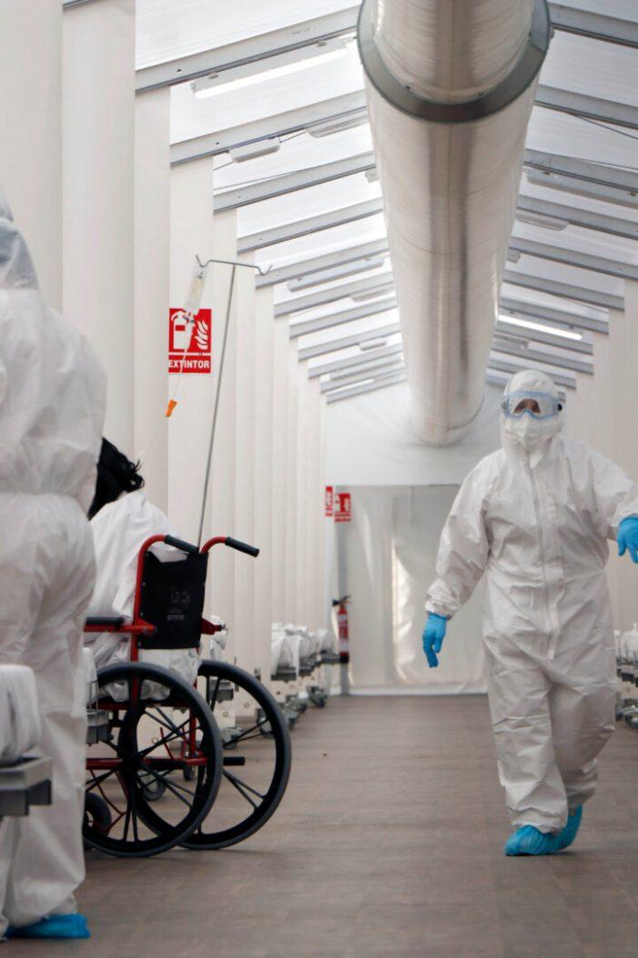 L'hospital de campanya de la província de València ha atés durant la tercera ona a 93 pacients hospitalitzats per covid-19