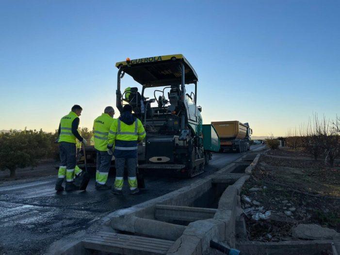 Benimuslem impulsa el sector primari invertint 45.000 euros en la reforma de camins rurals