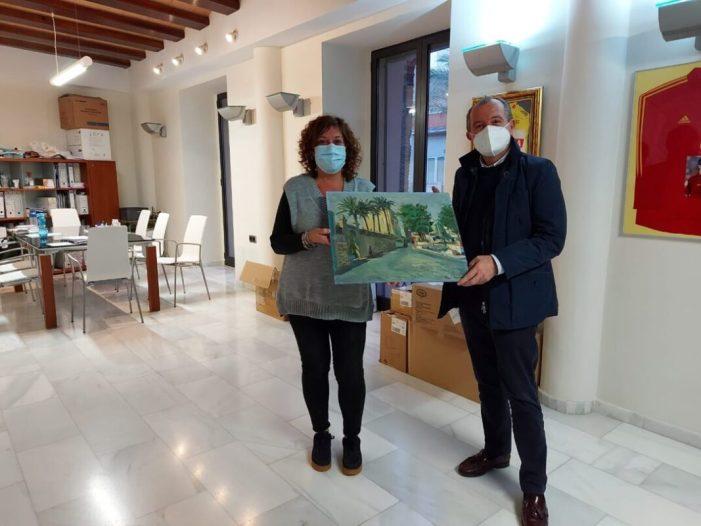 La Pobla Llarga rep una donació d'una pintura de la família Lahuerta – Talens per a la seua col·lecció museística