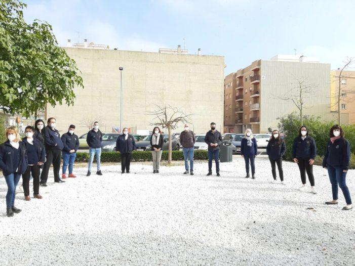 L'Escola d'Ocupació 'Et formem' d'Almussafes, a punt d'arribar al seu equador