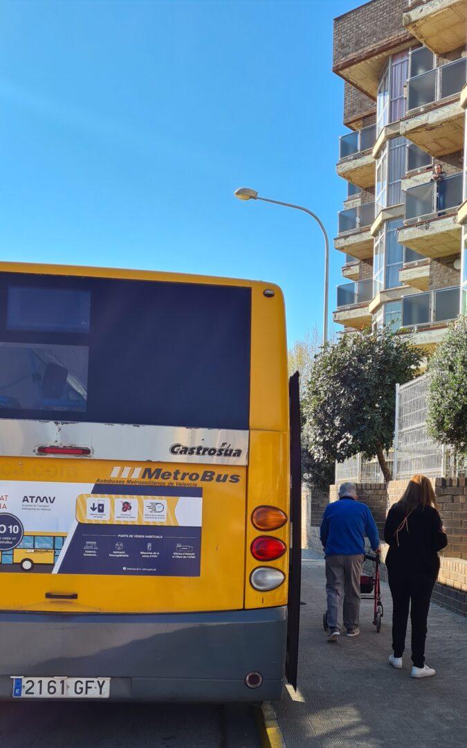 Els majors de la Residència recuperen el servei d'autobús a Carlet