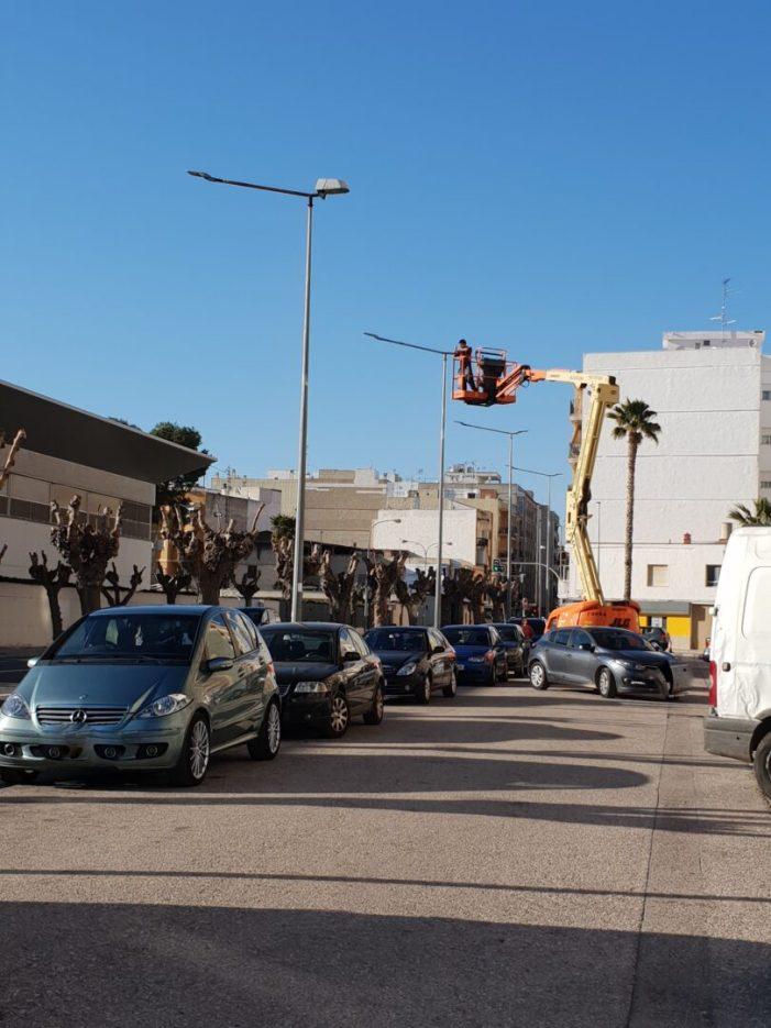 L'Ajuntament de Carlet continuarà renovant l'enllumenat de la ciutat