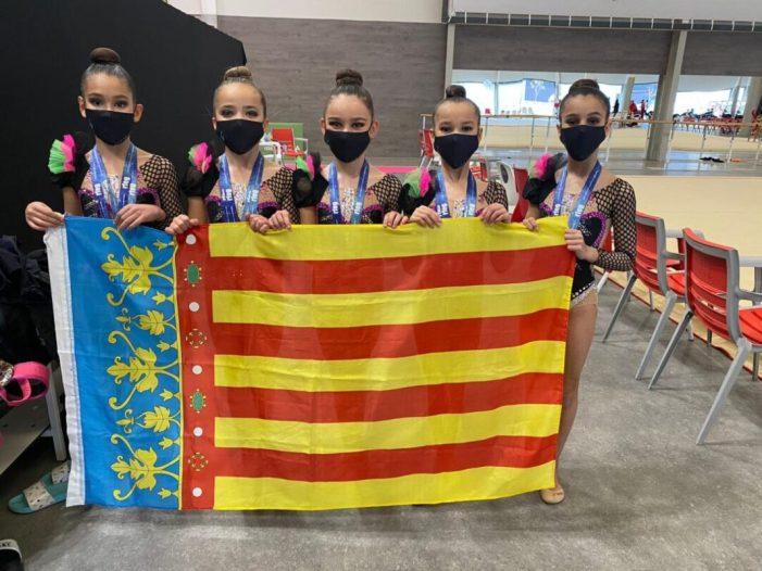 L'equip aleví del CGR Alboraia aconsegueix l'or a València