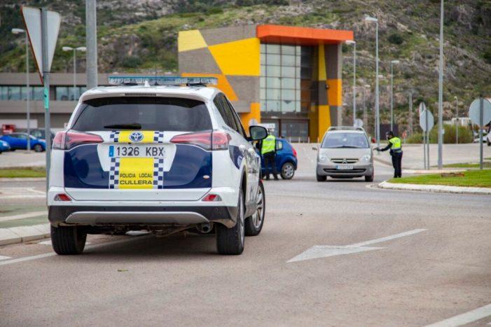 Cullera intensifica la vigilància policial amb 50 punts de control del 25 al 29 de març