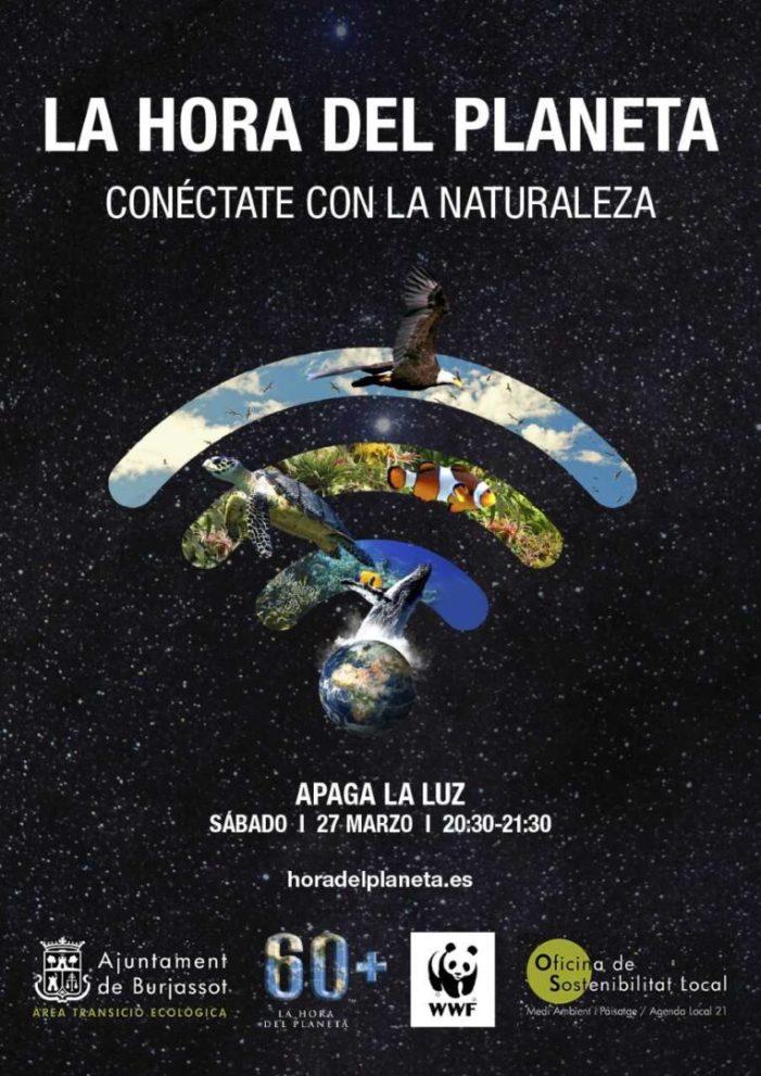 Burjassot s'adhereix a l'Hora del Planeta