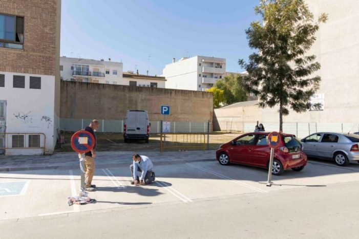 L'Ajuntament de Picassent condiciona una nova zona d'aparcament públic i gratuït amb capacitat per a 25 places