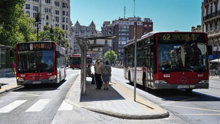 L'Ajuntament de València estima en 22 milions d'euros la compensació per la pèrdua d'ingressos de l'EMT a causa de la covid