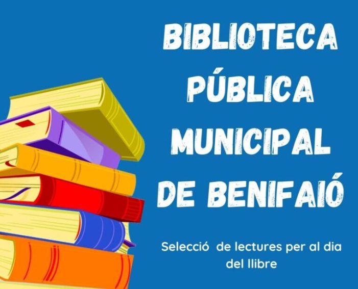Benifaió celebrarà el Dia del Llibre acostant la lectura al públic infantil