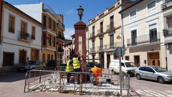L'Ajuntament de Turís rehabilita la font de la Placeta del Marqués