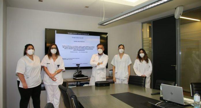 L'Hospital Clínic de València inicia un assaig Fase II per a determinar l'eficàcia d'un tractament amb limfòcits T per a la curació de la infecció per COVID-19