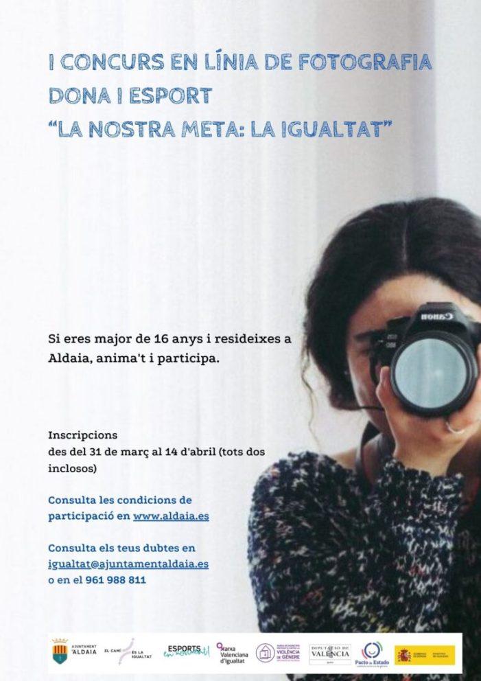 """Aldaia convoca el concurs de fotografia """"La nostra meta: la igualtat"""""""