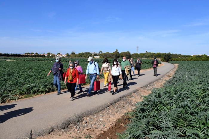Paiporta convoca 'Passejades per l'horta' per a posar en valor l'entorn natural de la localitat