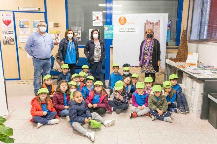 «Lliga't les sabatilles», campanya d'hàbits saludables del CEIP Mare de Déu de Vallivana