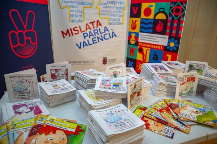 Mislata celebra el Dia del Llibre fomentant la lectura des de la infància