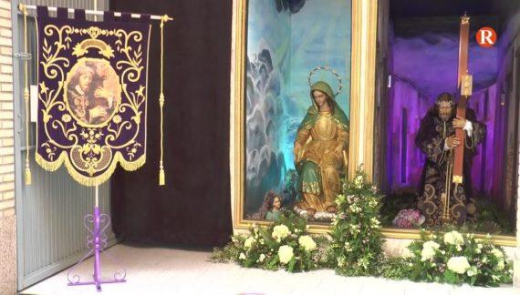 Set confraries de la Setmana Santa d'Alzira permeten visitar les imatges