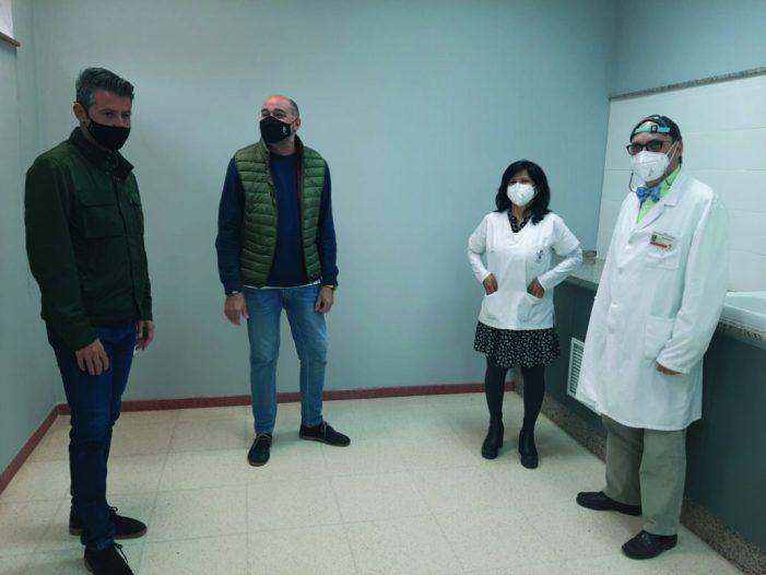 L'Ajuntament d'Almussafes sufraga les obres d'ampliació del servei de Pediatria de la localitat