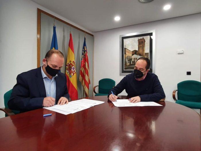 L'Ajuntament d'Aldaia signa un conveni que aconsegueix el dret de tanteig per a la compra d'habitatges