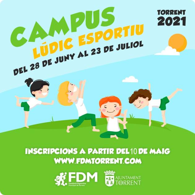 Xiquets i xiquetes de Torrent gaudiran aquest estiu del Campus FDM