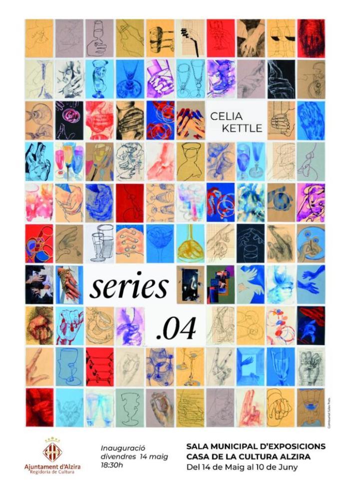 Demà s'inaugura Sèries 04, a la Casa de la Cultura d'Alzira