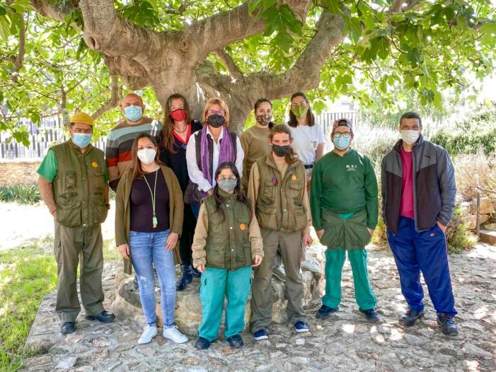 En marxa el Taller de jardineria a Picassent per a persones amb diversitat funcional
